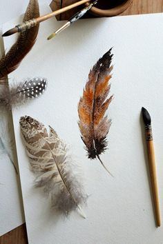 How to Paint a Watercolor Feather (via Bloglovin.com )