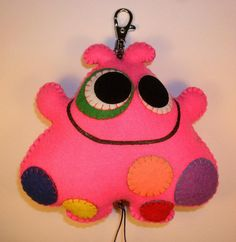 Worry Monster, Mobiles, Ugly Dolls, Animal Pillows, Applique Quilts, Jelly Beans, Crochet For Kids, Softies, Felt Crafts