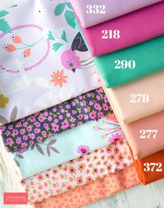 Felicity from Timeless Treasures now available at Bloomerie Fabrics. Plus, 6 gorgeous RJR Cotton Supreme Solid coordinates.   bloomerie.com #bloomeriefabrics #timelesstreasures