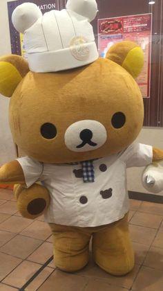 Rilakkuma the Chef! d(^_^o)
