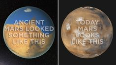 It's Okay To Be Smart • skunkbear:   Ancient Mars had a thick atmosphere...