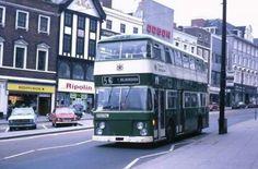 Long row 1970s Nottingham City, Bus Terminal, Double Decker Bus, Bus Station, Busses, Bus Stop, Chevrolet Trucks, England Uk, Coaches