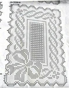 Crochet Dollies, Crochet Flower Patterns, Crochet Stitches Patterns, Thread Crochet, Crochet Motif, Crochet Yarn, Crochet Flowers, Crochet Carpet, Filet Crochet Charts