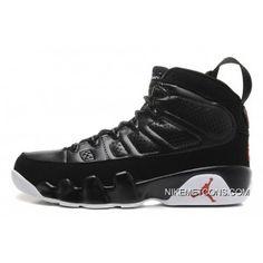 new product f5af5 38eb3 Copuon Air Jordan 9 Black White-Varsity Red Price