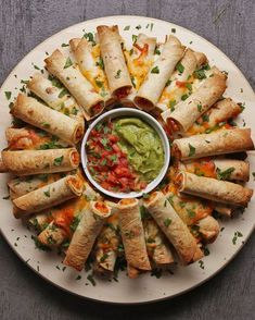 Apart Flauta Ring Pull Apart Flauta Ring Recipe by Tasty - Make your own gf flour tortillas. I pinned an easy one.Pull Apart Flauta Ring Recipe by Tasty - Make your own gf flour tortillas. I pinned an easy one. Snacks Für Party, Appetizers For Party, Appetizer Recipes, Dinner Recipes, Meat Appetizers, Halloween Appetizers, Freezable Appetizers, Avacado Appetizers, Prociutto Appetizers