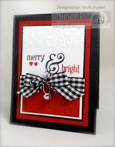 ... Simply Stamping ...: {Gina K Designs Inspiration Blog Hop} This & That and Simply The Best