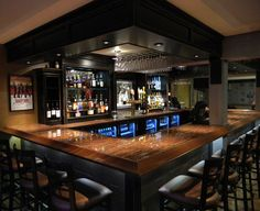 """I used the Light 36 Gauge Enchantment copper on a commercial bar top and was very pleased with the results. It was easy to apply and with the reassuring help from Color Copper's customer service, the two part epoxy was fool proof."" / Mark Baker Panther Pub - Panther Valley, New Jersey"