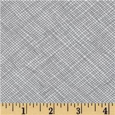 """Modern building blocks backing? 108"""" Wide Quilt Backing Widescreen Grid Grey"""