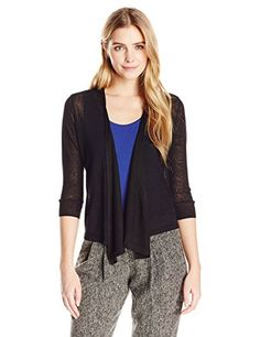 18630d1dda NICZOE Womens 4 Way Cardy Black Onyx Small   To view further for this item