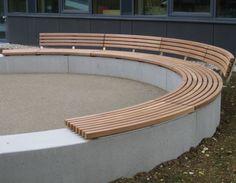 Losse houtelementen op beton, maar dan recht!