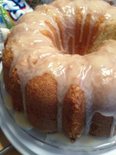 New Orleans Pound Cake...ya'll better pray I don't ever learn how to make a pound cake