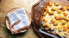 Cheeseburger Tater Tot Casserole #recipe #NationalTaterTotDay