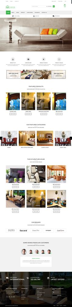 Furniture modern #Woocommerce #WordPress #Themes