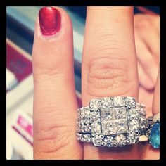 Love this ring. Would love to have one like this one day.