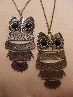 $9.99 Owl Pendant Necklace