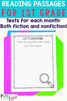 Reading Lessons, Guided Reading, Teaching Reading, Teaching First Grade, First Grade Reading, Grade 1, Second Grade, Small Group Reading, Fiction And Nonfiction