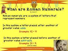Roman Numerals - Powerpoint lessons,... by Mrs J's Resource Creations | Teachers Pay Teachers