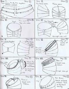 Turbans, Turban Hat, Turban Style, Turban Headbands, Turban Headband Tutorial, Beret, Hat Patterns To Sew, Vintage Crochet Patterns, Sewing Patterns