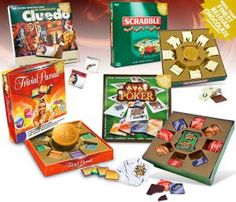 Chocolate Board Games | IWOOT