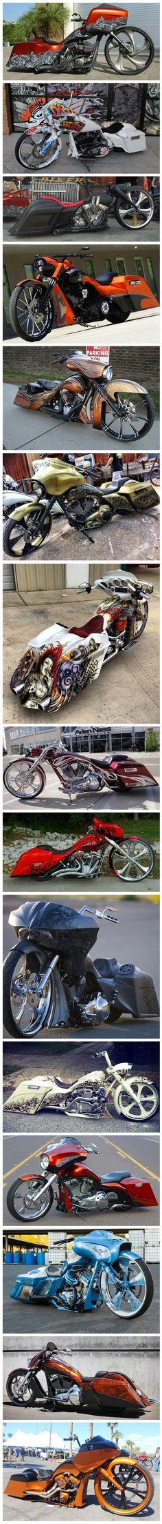 #baggers #motorcycles #harleydavidsonroadglidebaggers