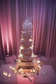 Fancy That! Events, Langham Hotel, Crystal Cake Stand, Crystal Cake Topper, Acrylic Cake Table