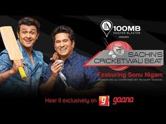 Sachin's Cricket Wali Beat | Sachin Tendulkar | Sonu Nigam | Official Music Video - YouTube