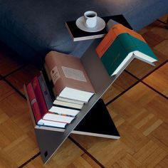 15 Cool Caddies for Storing Your Favorite Books + Magazines via Brit + Co.
