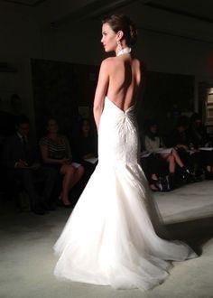 Anne Barge open back wedding dress fall 2014 bridal