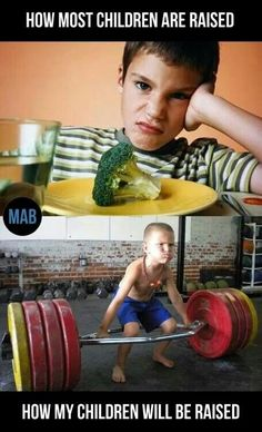 Gym humor...IF I ever have kids...