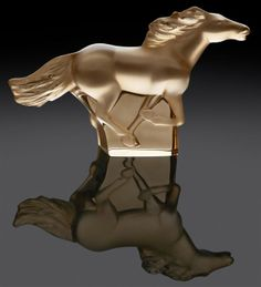 Kazan Running Horse by Lalique http://www.counter-canterculture.com/2014/01/26/arts-equitainment-art-for-the-year-of-the-horse/
