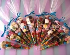 Some cool ideas for party bags, for kids and adults alike