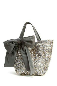 Tote Glitter Purse, Glitter Girl, Cute Purses, Purses And Handbags, Bow  Purse be9a47b3a3