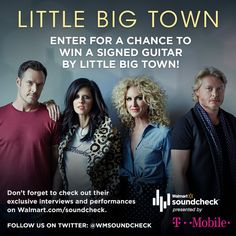Enter for a chance to win a Little Big Town Autographed Guitar ($282 value!). Be sure to enter soon because this giveaway closes November 17th. #ad #LittleBigTownWMSC  #WMSoundcheck