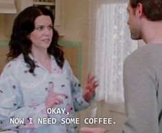You need coffee to handle any big questions.