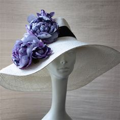 if I could go to the Kentucky Derby, I would wear this hat proudly
