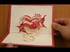 Aujourd'hui, je vous propose de découvrir ce superbe kirigami, un coeur en forme de spirale avec de magnifiques papillons autour. De quoi faire chavirer les coeurs ;) Le patron gratuit kirigami coeur en forme de spirale est à retrouver ici et ici (2parties)...