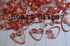 Clips corazón