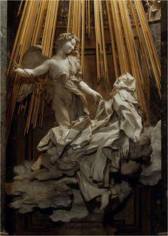bernini Ecstasy of St. Theresa of Avilla.