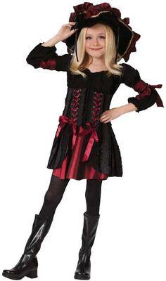 Kids Stitch Girls Pirate Costume