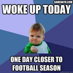 Now one more day closer to Seahawks going to SuperBowl!