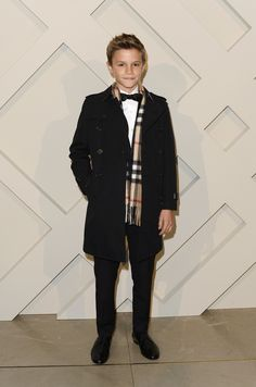 Romeo Beckham, outshines his parents David and Victoria