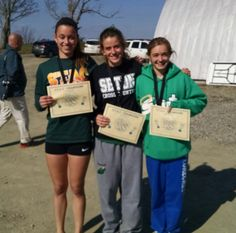 Three Saints earn ALL STAC honors in cross country at the STAC Meet, Pheasant Hill Country Club in Owego. Jamie Farrell (17th place overall, 20:56.4 for a challenging 5k course), Shayna Will (27th place overall, 21:47.9, a personal best), and Marlee Shaffer (30th place overall, 21:54.6.) The Seton girls placed 7th overall, and were the first place team from the Central Division, beating JC by 2 points. Pheasant, Cross Country, Athletics, 2 In, Division, 30th, Saints, Meet, Club