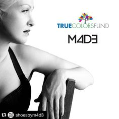 #Repost @shoesbym4d3 ・・・ Coming soon: The Cyndi Lauper True Colors Fund Collection. We can't wait to share our newest line with you!