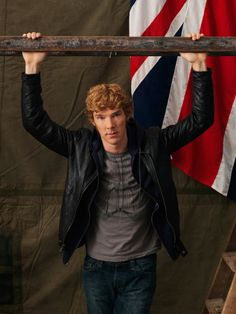 Benedict Cumberbatch by Kevin Lynch - War Horse cast photoshoot