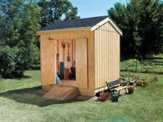 Build a New Storage Shed with One of These 23 Free Plans: Simple Storage Shed Plan