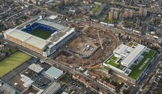 Enabling works on the new Spurs Stadium. 29/01/16