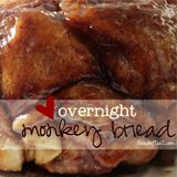TWO, GREAT VERSIONS - CARAMEL MONKEY BREAD.  Only had cinnamon monkey bread? TRY A CARAMEL ONE.  Version 1) is the overnight recipe on recipe page, pour the melted butter over last. Version 2) EASIER & EAT RIGHT AWAY!  Use 2 tubes of your favorite canned biscuits. Cut each biscuit into 4 pieces. Put in buttered bundt pan. Sprinkle, 'Cook n' Serve' boxed butterscotch pudding over cut biscuits. Sprinkle 1/3-1/4 C. Brown sugar on biscuits & melted butter as in Version 1. Bake - biscuit…