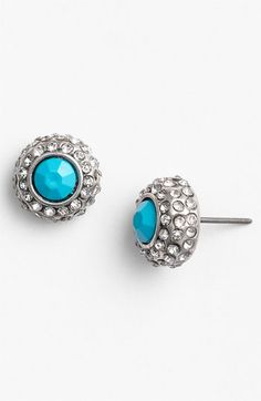 Carole Neon Rhinestone Stud Earrings available at Nordstrom