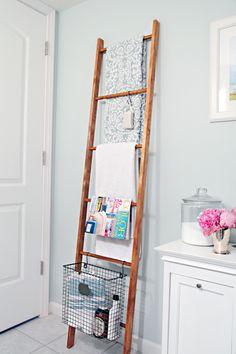 DIY Decorative Wood Ladder