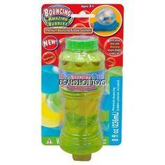 BOUNCING Amazing Bubbles  Premium Bubble Solution 8 oz.  #Placo